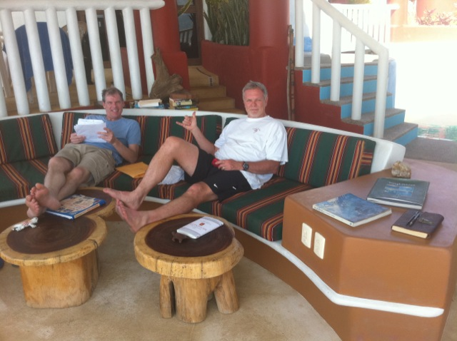 Scott and Skip Visit Rusty's Surf Villa