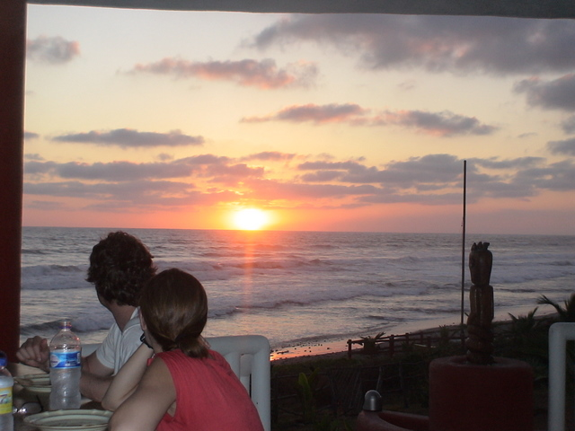 Sunset Dinners at Rusty's Surf Villa