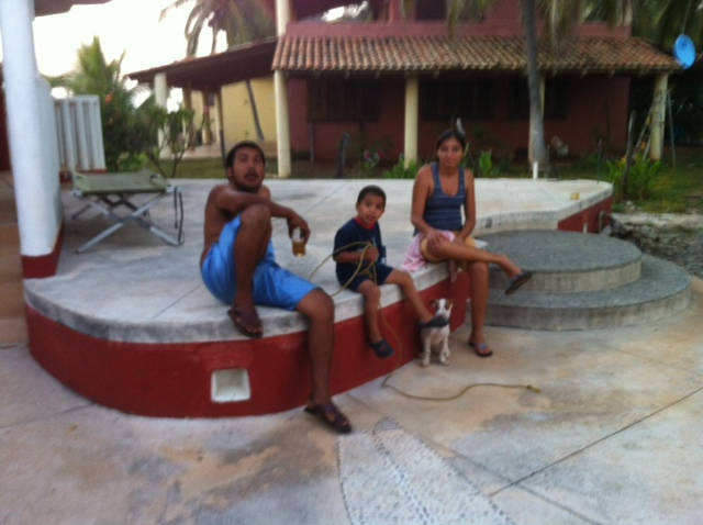 Javier with Family